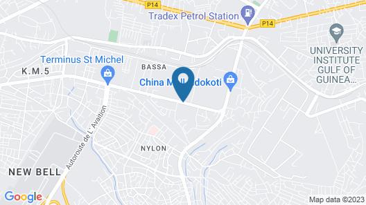 Mbayaville Hotel Map
