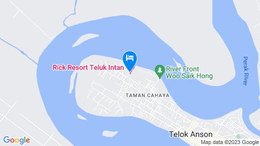 Rick Resort Teluk Intan Map