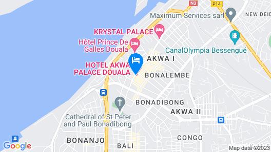 Hotel Akwa Palace Map