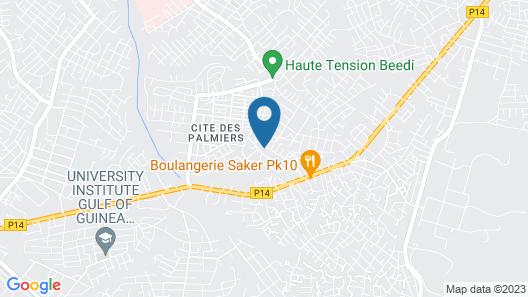 Couba Club Map