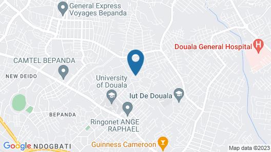 Douala Park Suite Map