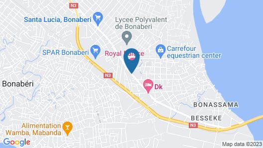 Hotel Royal Palace Map