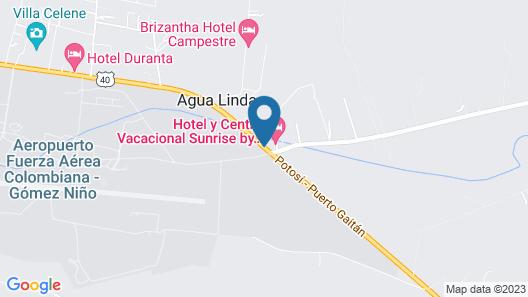 Sunrise Hotel y Centro Vacacional Map
