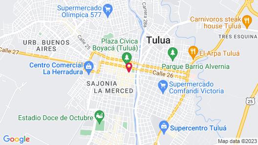 Hotel Cafe Plaza Map