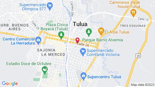 Hotel Boutique NOA Map