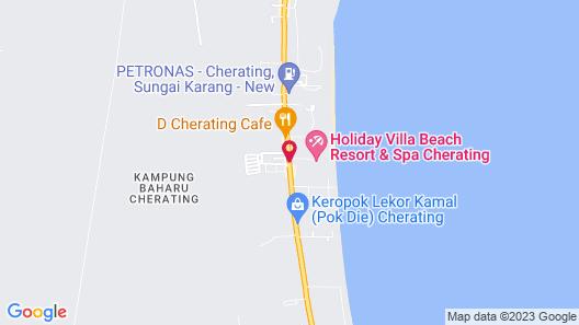 Holiday Villa Beach Resort & Spa Cherating Map