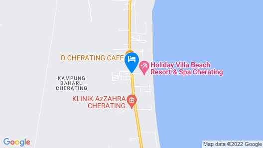 Lavilla By Holiday Villa Cherating Map
