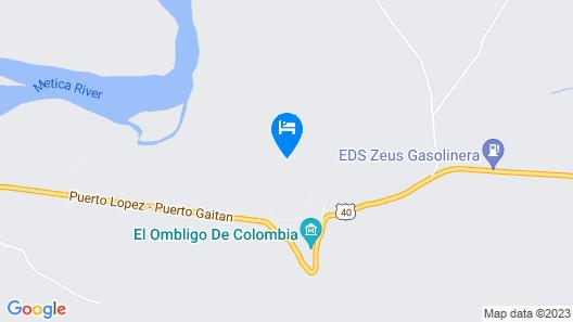 Hotel Campestre Luna Roja Map