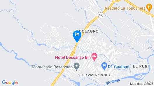 Hotel Santa Barbara Map