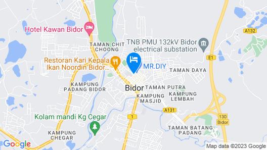 See Foo Hotel Map