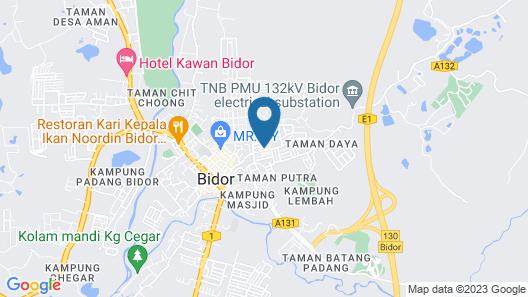 Loong Fatt Hotel Map