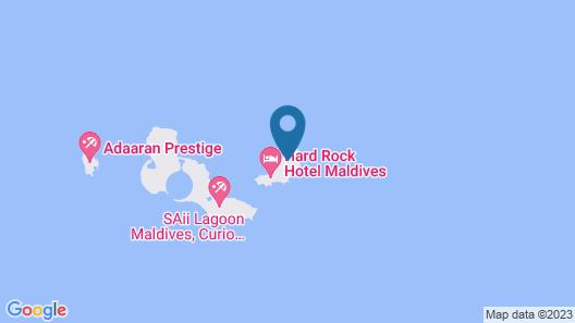 Hard Rock Hotel Maldives Map