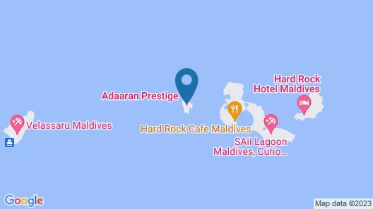 Adaaran Prestige Vadoo Map