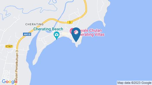 Royale Chulan Cherating Chalet Map
