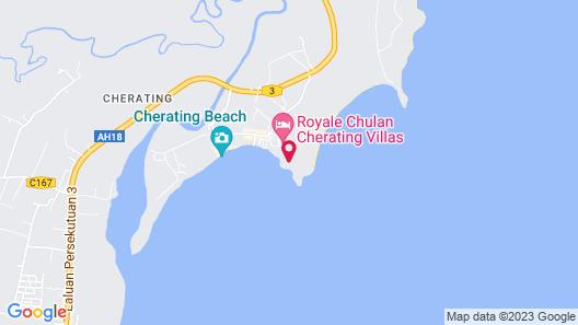 Royale Chulan Cherating Villa Map