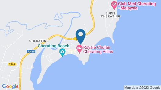 Residence Inn Cherating Map