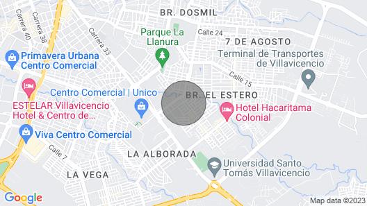 Apartamento de Pasadía Map