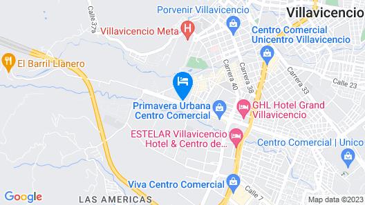 Ayenda 1701 Casa Corona Map