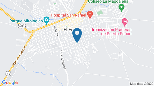 Plaza Hotel Moncada Map