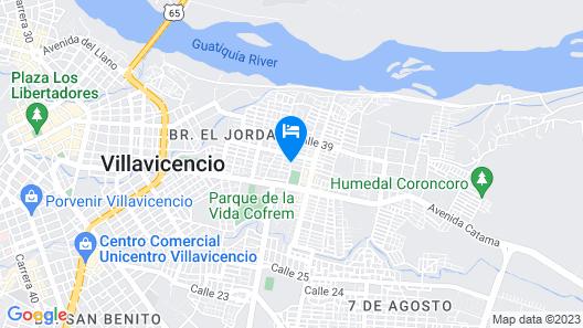 Hotel Ayenda Castillo Real 1708 Map