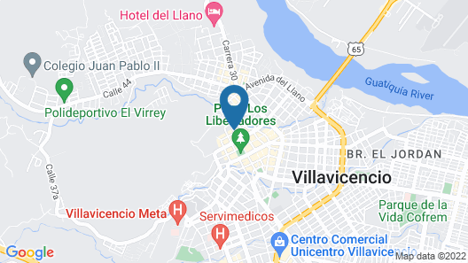 VVC HOTELS Map