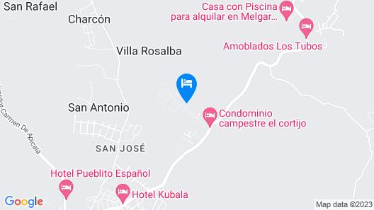 Casa Quinta Carmen De Apicala Map