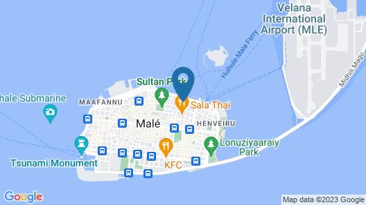 JEN Maldives Male by Shangri-La Map