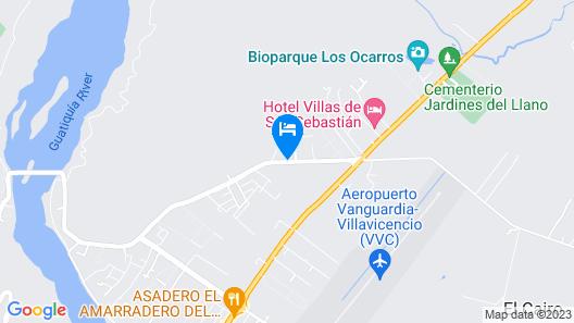 Ayenda Casa Baquero Map