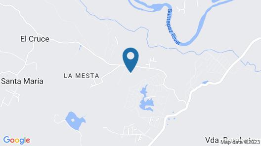 Finca Con Piscina Privada En Melgar Map