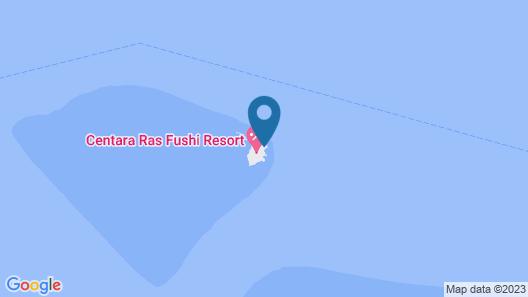 Centara Ras Fushi Resort & Spa Maldives Map