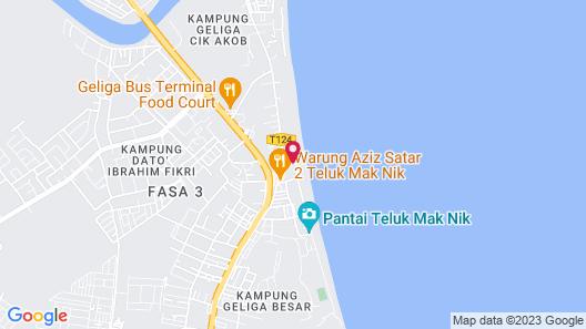 Kemaman Sands Map