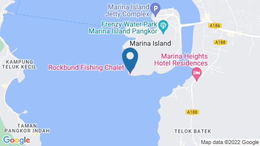 Rockbund Fishing Chalet Map
