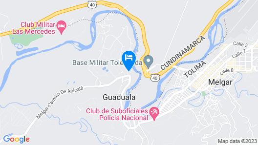 Casa Con Pequeña Piscina Privada Map