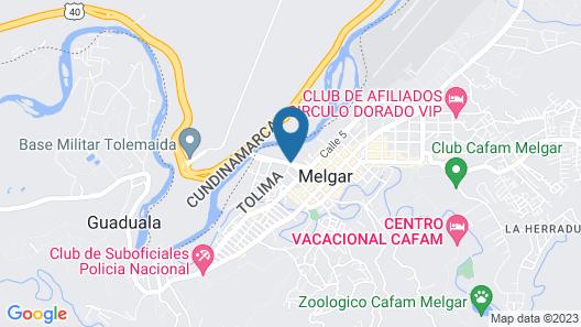 Hotel Guadaira Resort Map