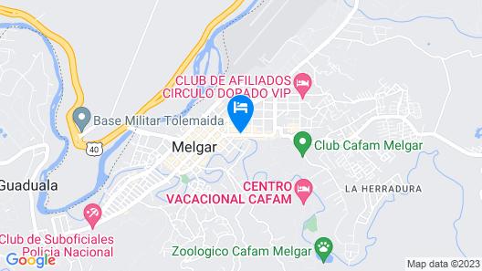 Hotel Orquidea Dorada R Map