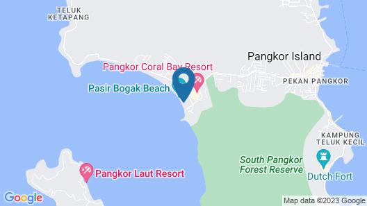 Pangkor Sandy Beach Resort Map