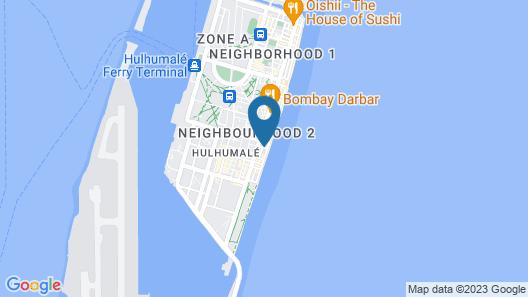 Manta Beach & Spa Hulhumale Map