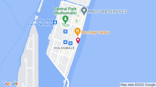 Hotel Ocean Grand at Hulhumale Map