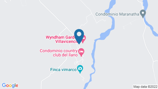 Wyndham Garden Villavicencio Map