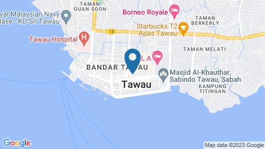 Check Inn Hotel Tawau Map