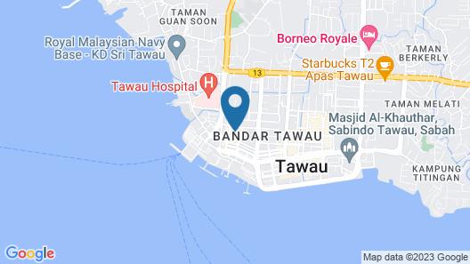 OYO 89568 Mangrove Hotel Map