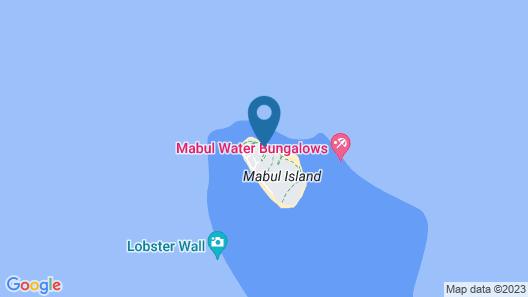Borneo Divers Mabul Resort Map