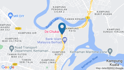 De Chukai Hotel Map