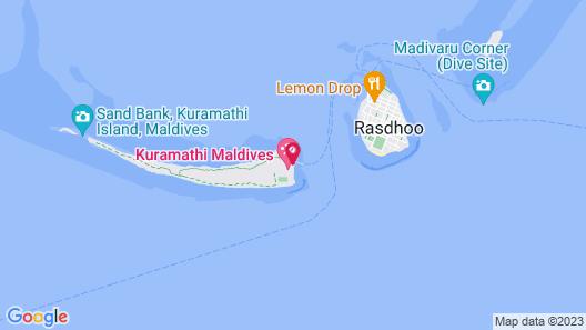 Kuramathi Maldives Map