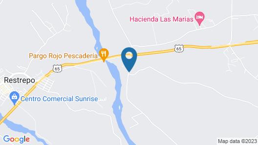 Hotel Pacolandia Map