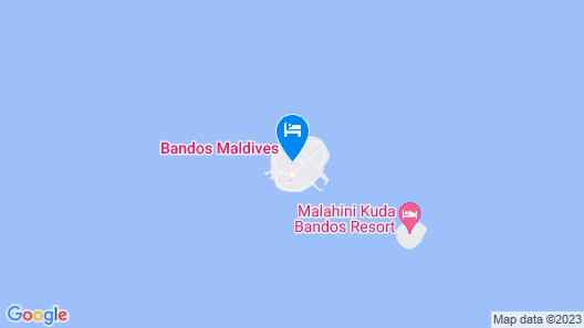 Bandos Maldives Map