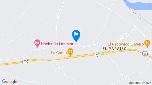 Finca Los Gatitos Map