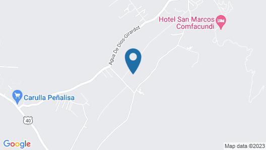 C&H Campestre El Oasis Map