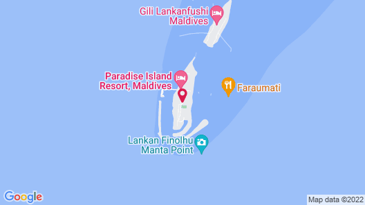 Paradise Island Resort & Spa Map