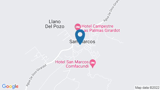 Villa Marfelia Map